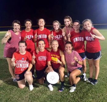 Chi Omega won this season's Ultimate Frisbee Championship. | Submitted photo