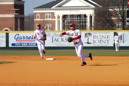 Photo by Cody Cunningham | Austin Orr (Second Baseman), Sophomore Exercise Science Major