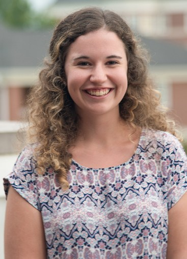 Amanda Ebert, sophomore Biology major, running for Office of Secretary | Photo Cred: SGA