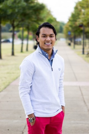 Binh Morris, sophomore Business Administration major, running for Vice President | Photo Cred: SGA