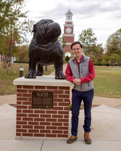James Matthew Wyatt, sophomore Political Science major, running for Office of Secretary | Photo Cred: SGA