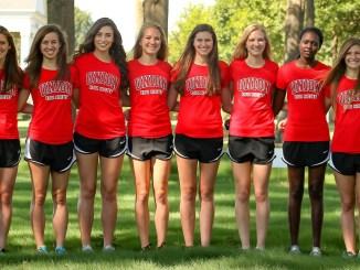 Womens Cross Country team