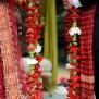 Wedding With Flowery Themes Cardinal Bridal