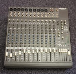 This device allows you to mix several audio inputs, and becomes essential if you have more than two microphones.
