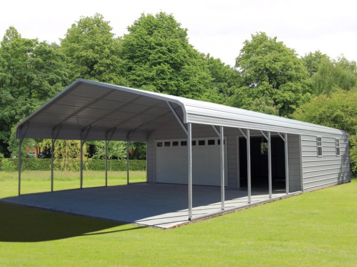 How To Build 3 Car Carport With Storage In 7 Easy Steps With