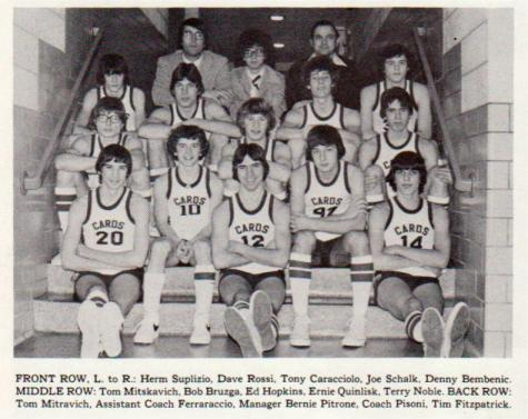 #TBT Throwback to the DCC Boys Basketball Team of 1977