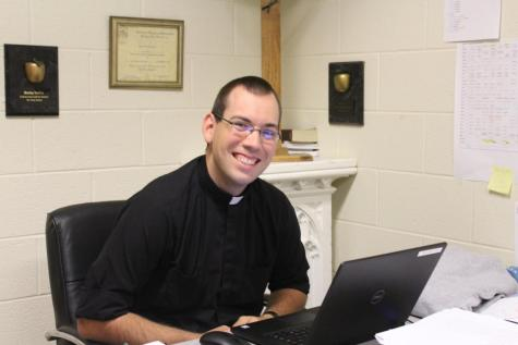 DCC Spotlight:  New Teacher – Father David Whiteford