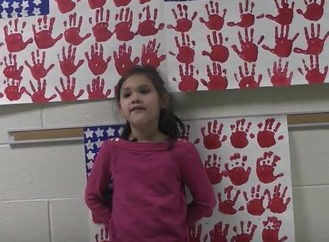 DCC First Graders Love Veterans