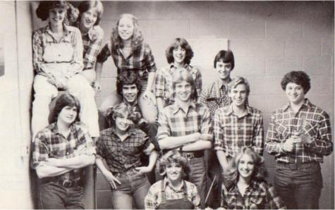 #TBT Throwback to 1981 When Plaid was Fab