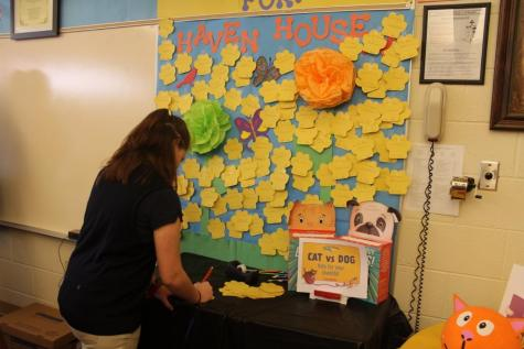 Students Choose Haven House as Book Fair Charity