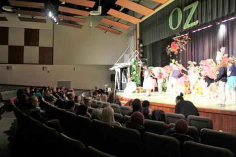 New Story Visits DCC for Special Wizard of Oz Presentation