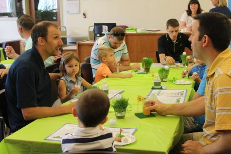 DCC Pre-School Celebrates Father's Day