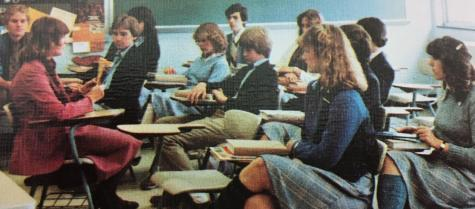 #TBT Throwback to Classroom Discussion in 1982