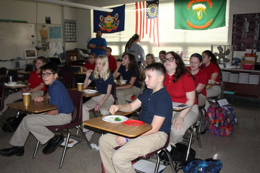 Mr  Micknis' 6th Grade Class Share Scary Stories – Cardinal