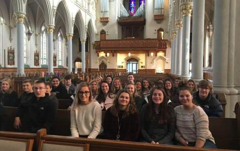 DCC Juniors Visit the Diocesan Cathedral in Erie
