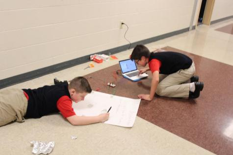 6th Grade Math Class Learns with Makey Makey Projects