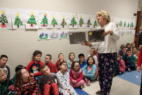 DCC First Grade Enjoys the Polar Express