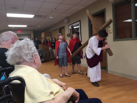 Residents of Christ the King Manor Enjoy DCC's Passion Play