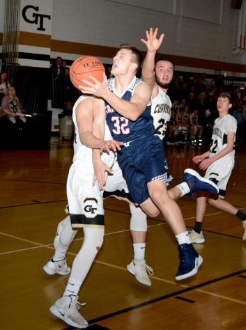 Student Spotlight: Justin Miknis Named Best Basketball Player in the Tri-County Area