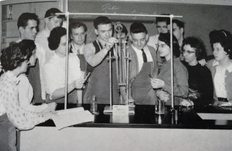 #TBT Throwback to 1962 Chemistry Class at Central