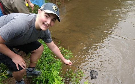 DCC 8th Graders Complete Environmental Study by Releasing Trout