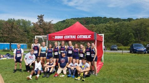 Big Day for Cardinals Cross Country at Benzinger Park