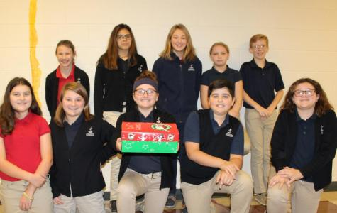 DCC Theology Classes Participate in 'Operation Christmas Child'