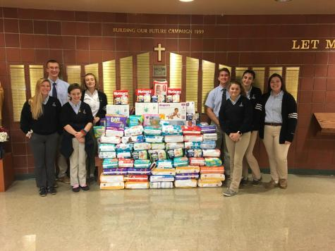 Yearly Diaper Drive was Successful