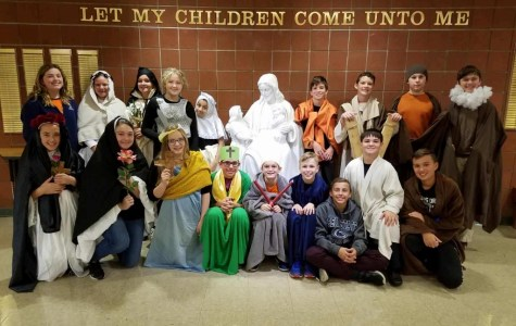 DCC Seventh Graders Give First Person Narratives of Saints