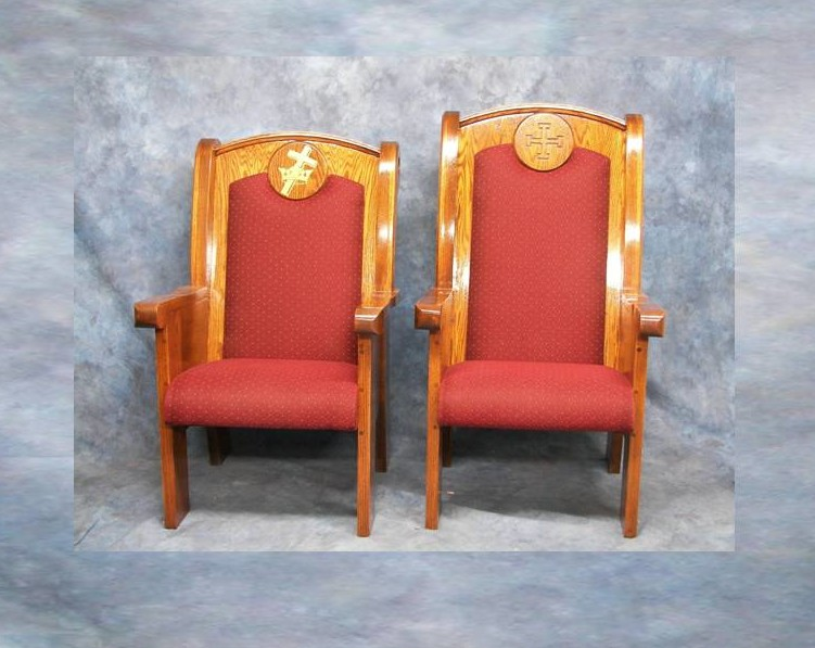 Pastors Chairs  Cardinal Church Furniture  Official Website