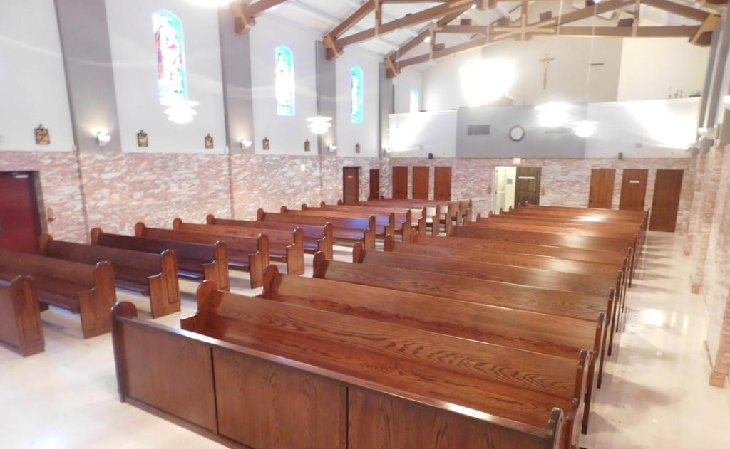 chair with kneeler pattern accent st. joan of arc, las vegas – cardinal church furniture | official website