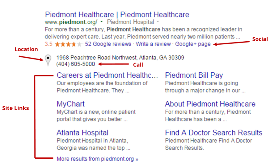 Ad Extensions for Healthcare