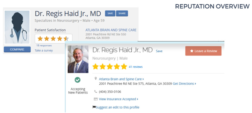medical profile
