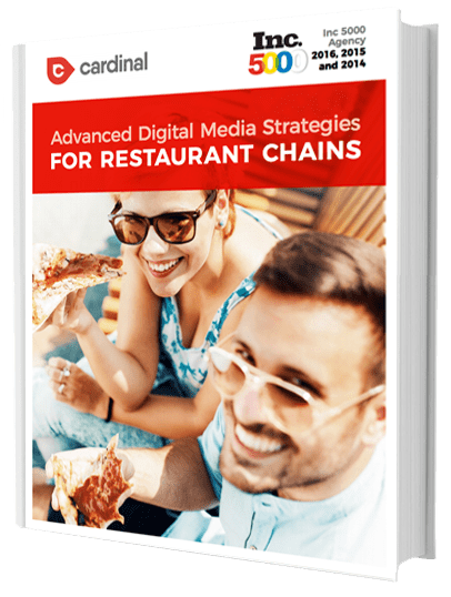 advanced digital media strategies for restaurant chains