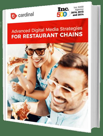 advanced digital media strategies for restaurant chains