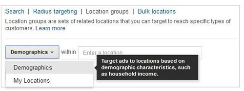 adwords demographics
