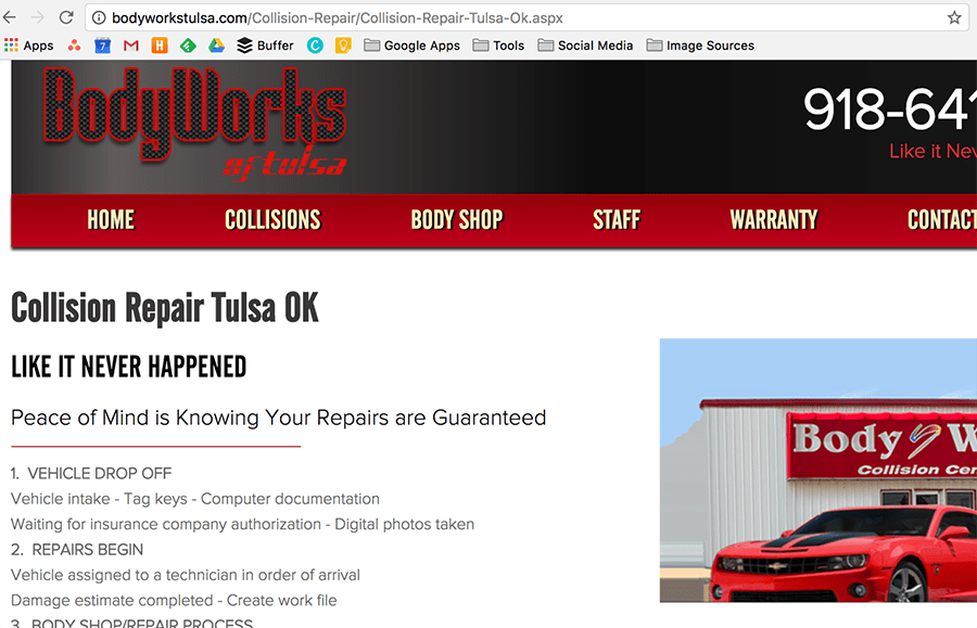 body works of tulsa