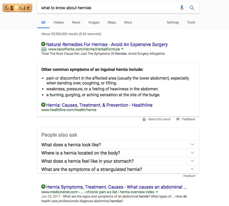 google search hyenas