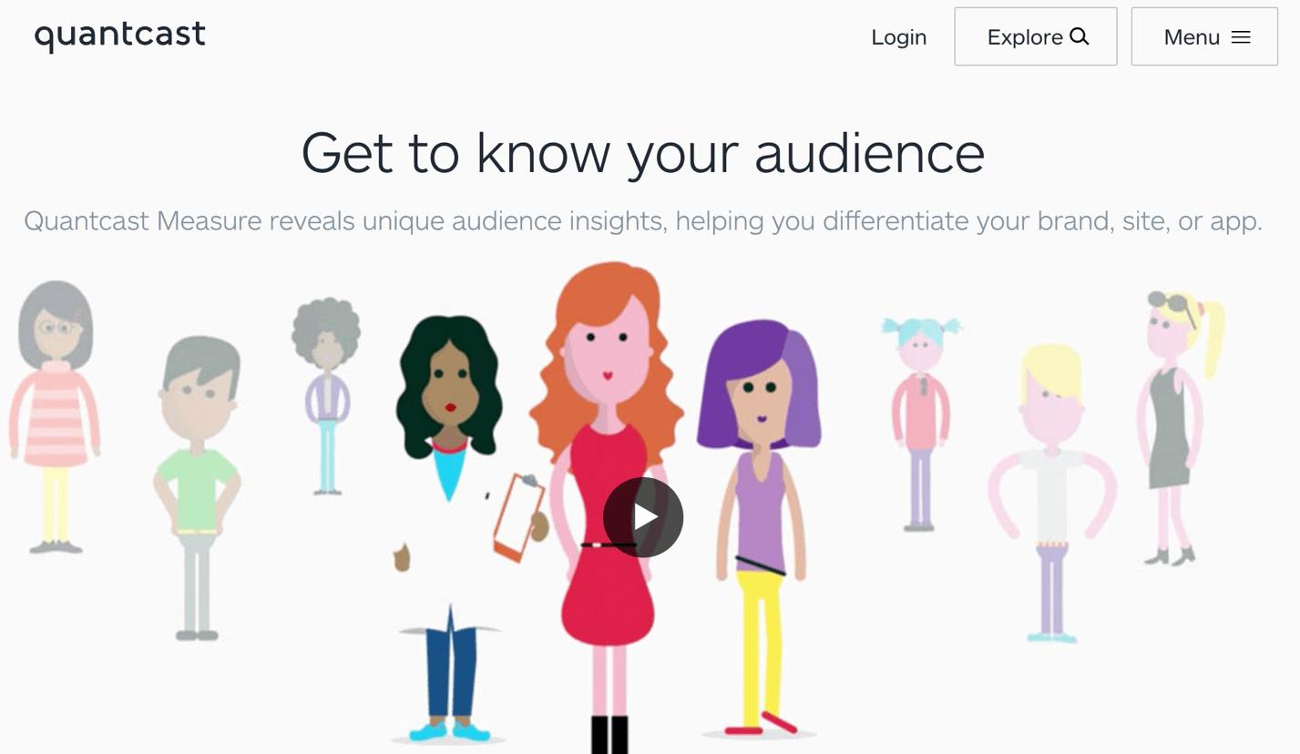 quantcast know your audience