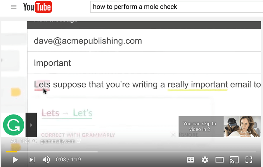 youtube autofill example
