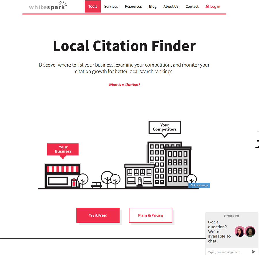 whitespark local citation finder