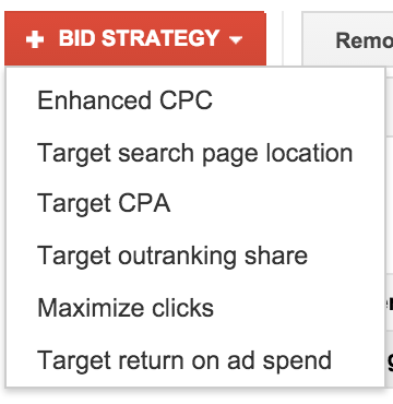 Flexible Cost-Per-Click Bidding Strategies