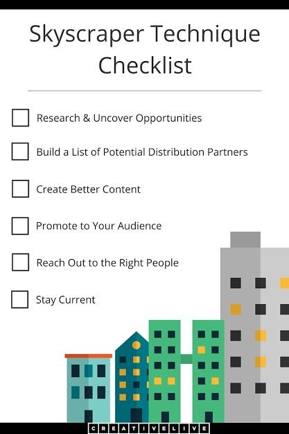 Using Skyscraper Technique to gain audience in your content marketing campaign