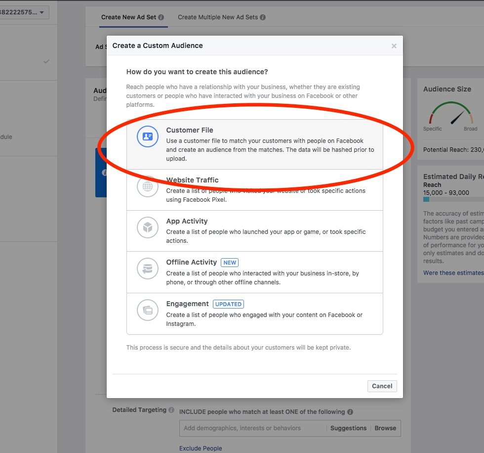 Using facebook ad to connect with your target audience