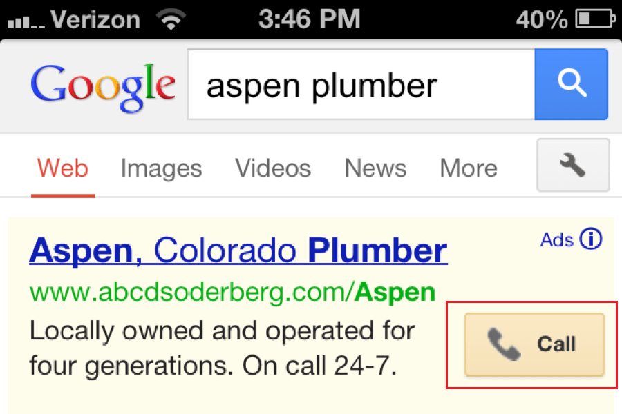 Using Call Extension comes very useful in some businesses