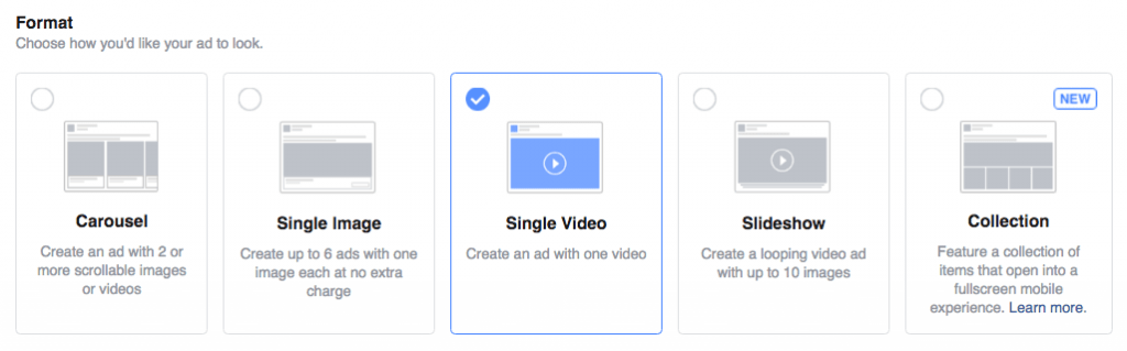 Use video view objective with facebook ad campaign when you are promoting a video and want people to watch it