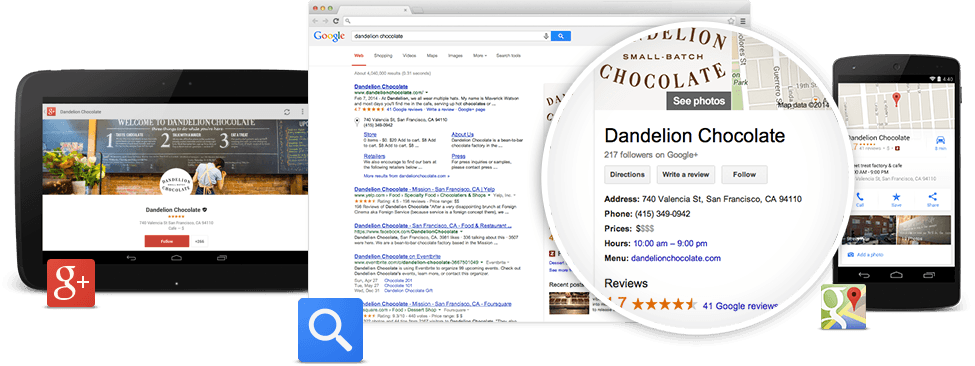 Keep your google my business listing up to date