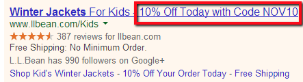 Adjust ad title for holidays and special occasions to attract more buyers