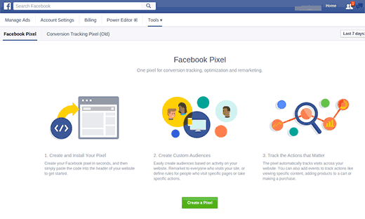 Install Facebook Pixel Tracking Code