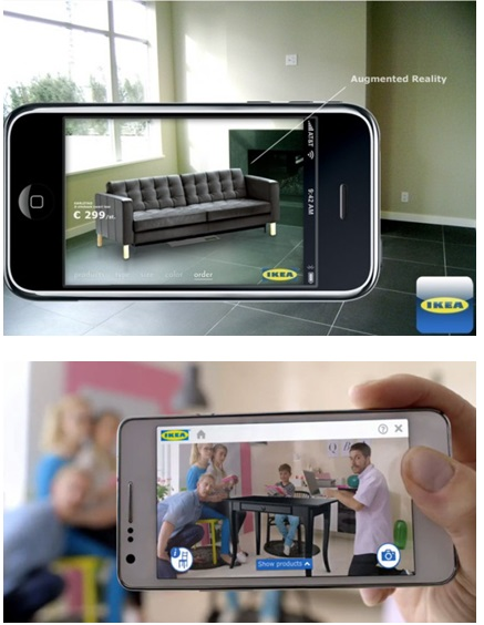 IKEA is using Augmented Reality App for furniture buyers